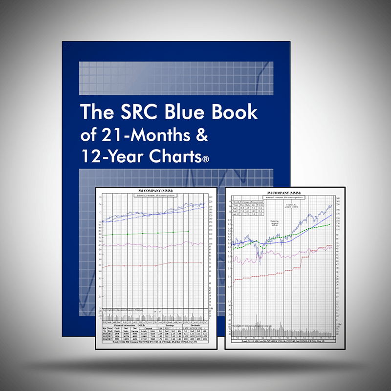 Stock Chart Books - The SRC Blue Book